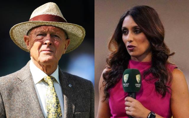 Geoffrey Boycott and Isa Guha