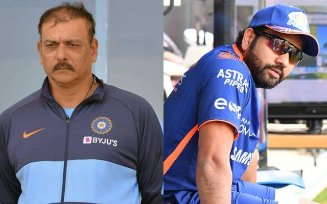 Sometimes you want to go out and check how quickly you can come back' - Ravi  Shastri explains the possible reason why Rohit Sharma trained at MI nets