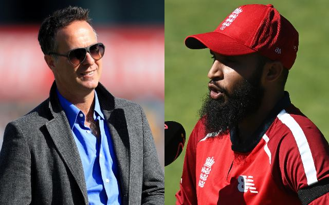Michael Vaughan and Adil Rashid
