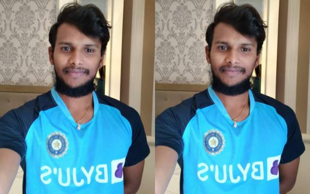 T Natarajan to shave off his beard after the birth of his daughter