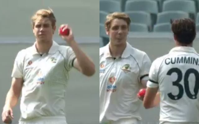 Australia Vs India Nervous Youngster Cameron Green Has An Awkward Moment On Debut