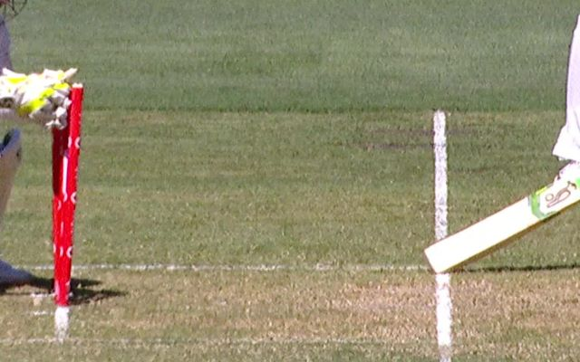 Twitter Reactions Tim Paine Survives In A Controversial Run Out Decision