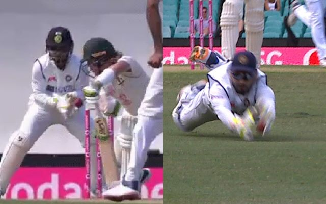 Twitterati hit out at Rishabh Pant for his poor wicketkeeping skills during the SCG Test