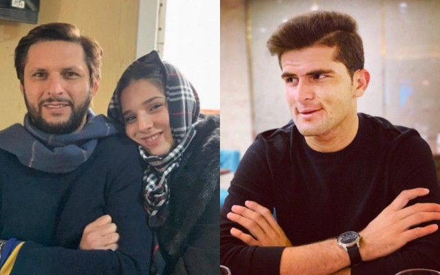 Reports: Shaheen Afridi to get engaged to Shahid Afridi's daughter Aqsa