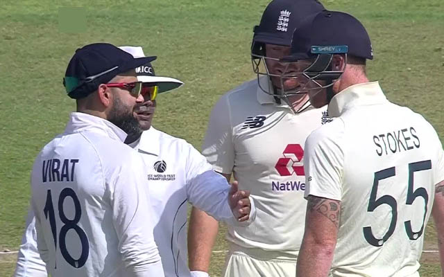 India vs England: Virat Kohli and Ben Stokes involve in furious exchange before umpire intervenes