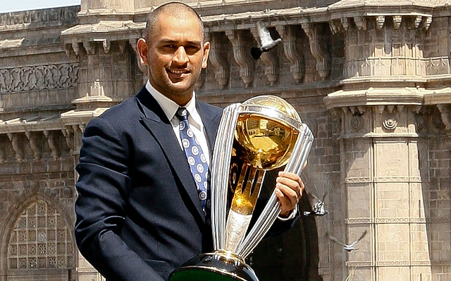 When MS Dhoni 'shaved off his head' and pleasantly surprised Team India after the 2011 World Cup triumph