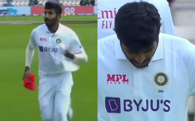 WTC Final: Jasprit Bumrah wears India's regular test jersey by mistake; rushes to dressing room to change