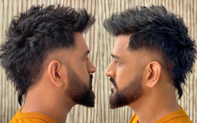 MS Dhoni rules the internet by sporting a new dashing look