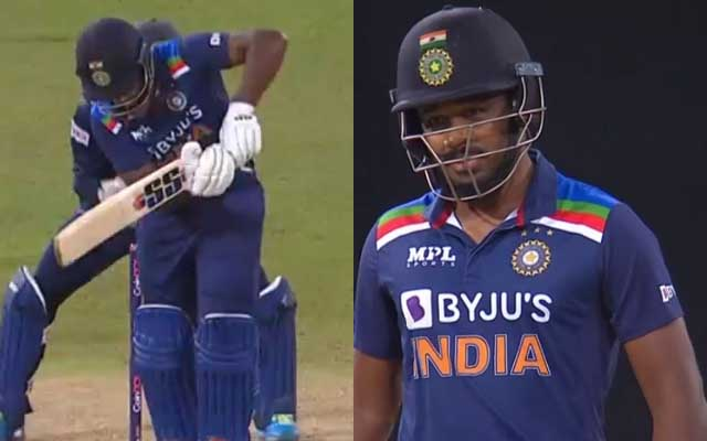 His career is over, can someone ask him to retire?' - Twitter disappointed  after Sanju Samson wastes another chance in international cricket