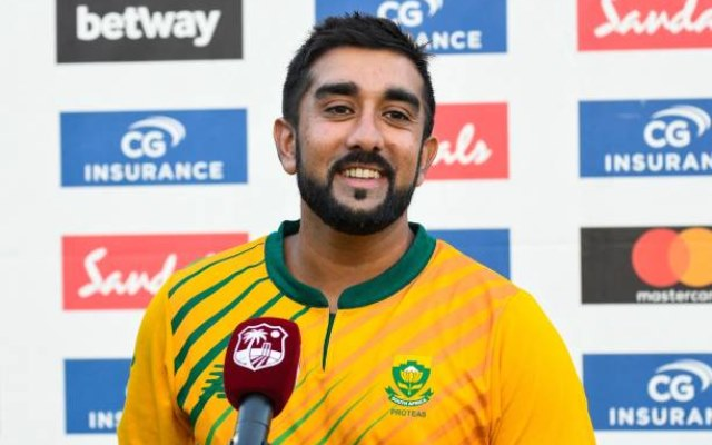 A racist fan alleges Tabraiz Shamsi got selected for South Africa due to his colour; cricketer gives a befitting reply