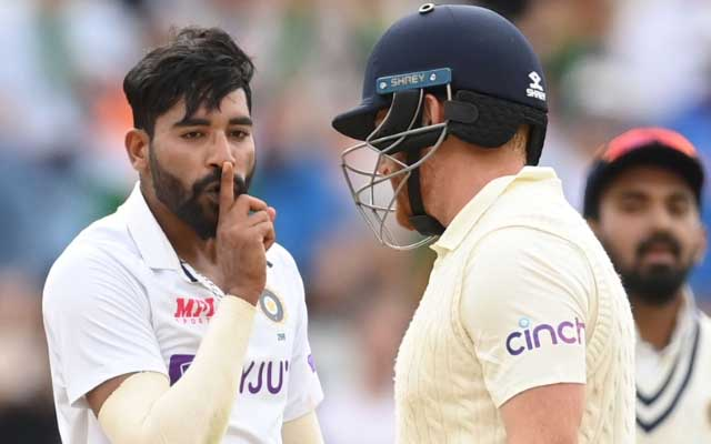 England vs India: Jonny Bairstow reacts to Mohammed Siraj's silent send-off  for him